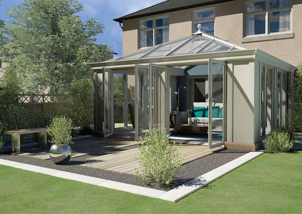 A new trend for house extensions the loggia for Loggia house