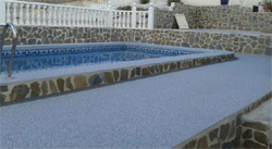 Addaset Resin Bound Surfacing Gives A Mediterranean Swimming Pool The Edge