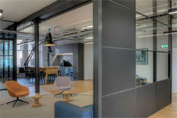 Partitions at office