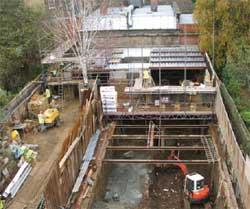 Turf Roof Conceals Sub Garden Basement